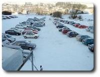 pokladna a parkoviště