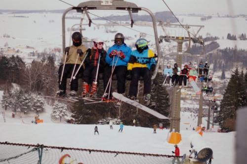 Ski areál Luka lanovka